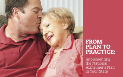 Creating an Alzheimer's Plan for Your State
