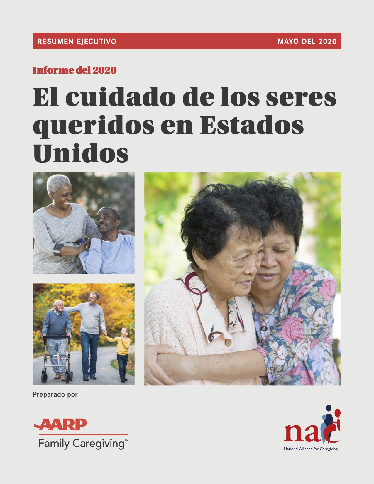 Full Report In Spanish Caregiving in the United States 2020 Cover Photo