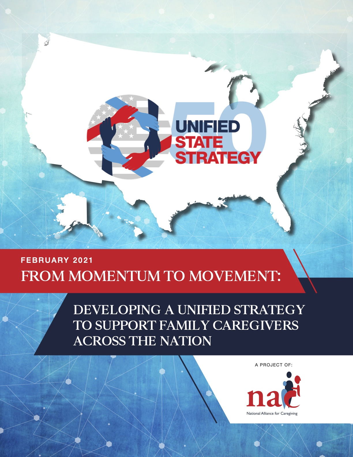 National Alliance for Caregiving 50 State Strategy Report Cover
