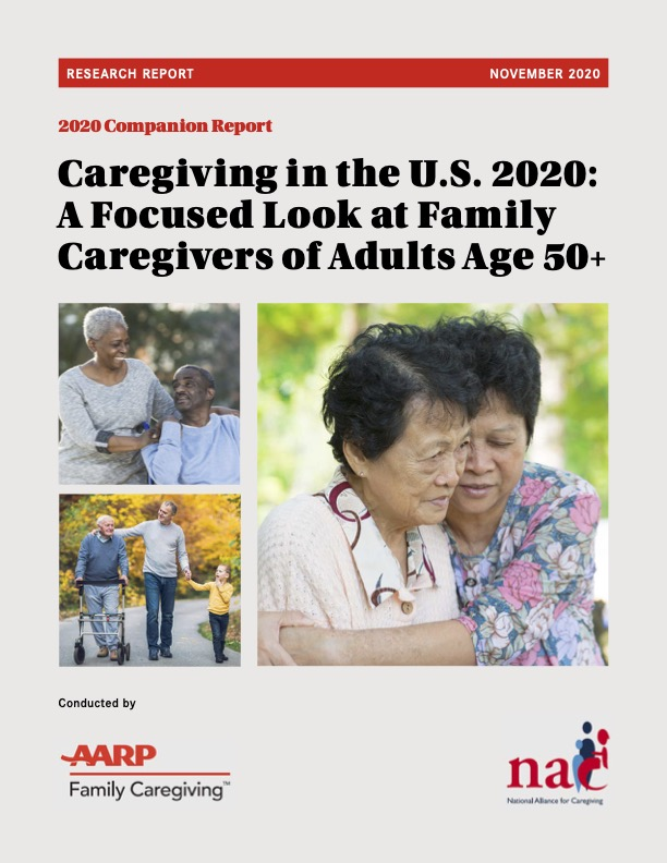 AARP Caregiving 50 Plus